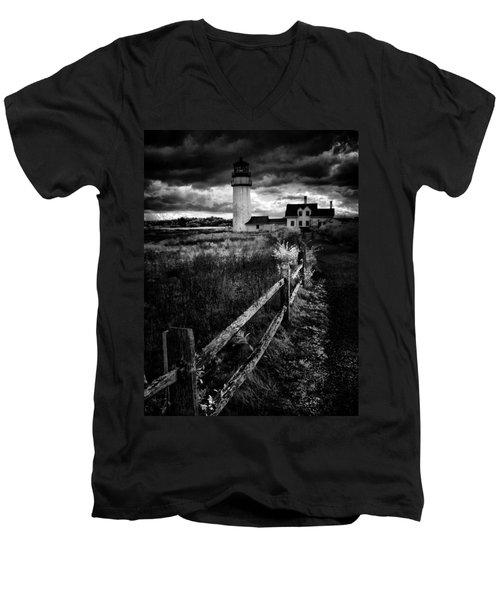 Men's V-Neck T-Shirt featuring the photograph Follow Me by Robert McCubbin