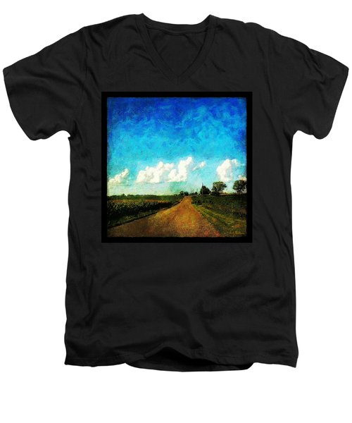 Follow The Leader Men's V-Neck T-Shirt