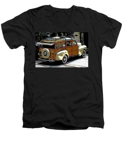 Ford Woodie Men's V-Neck T-Shirt