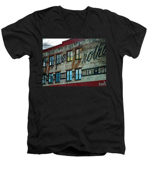 Fords Restaurant In Greenville Sc Men's V-Neck T-Shirt