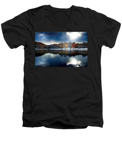Foreboding Beauty Men's V-Neck T-Shirt