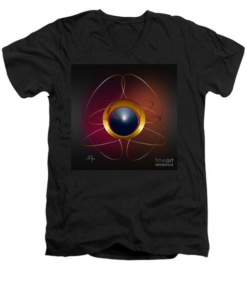 Forms Of Light Men's V-Neck T-Shirt by Leo Symon