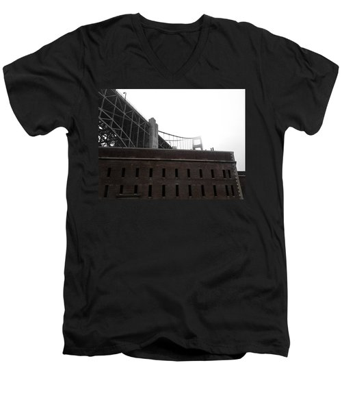Fort Point Men's V-Neck T-Shirt