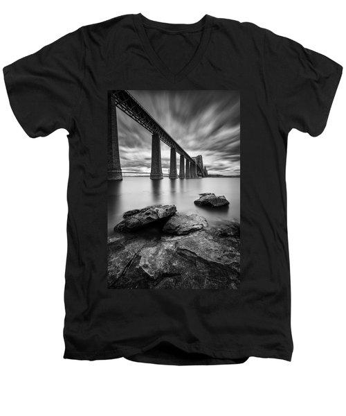 Forth Bridge Men's V-Neck T-Shirt