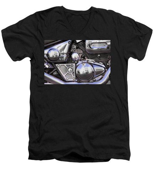 Four-stroke Men's V-Neck T-Shirt