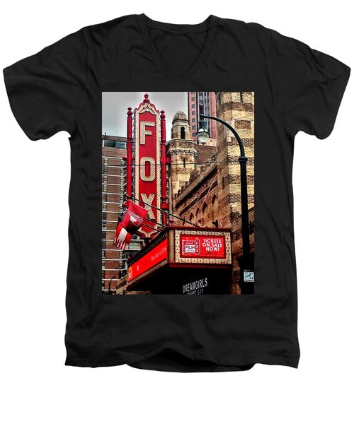 Fox Theater - Atlanta Men's V-Neck T-Shirt