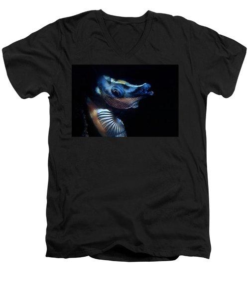 Foxface Rabbitfish Men's V-Neck T-Shirt