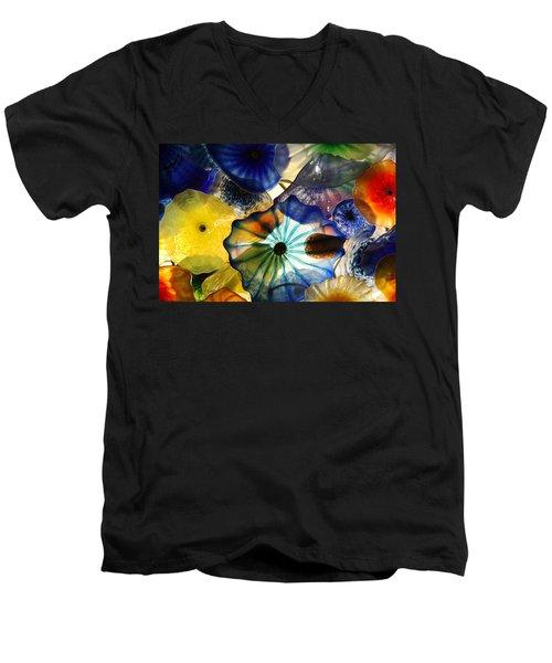 Fragile Flower Men's V-Neck T-Shirt