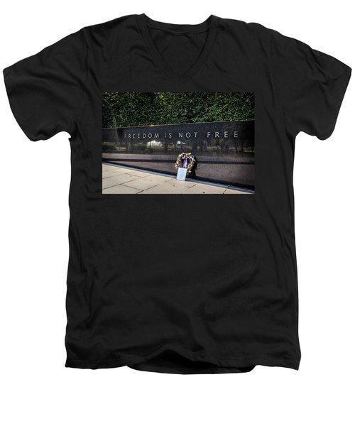 Freedom Is Not Free Men's V-Neck T-Shirt