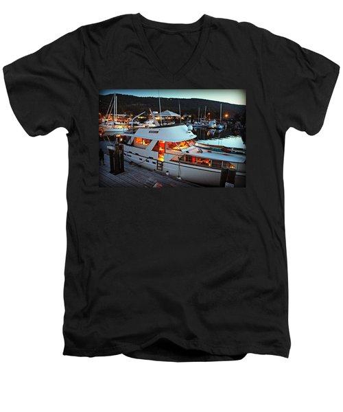 Freia At Dusk Men's V-Neck T-Shirt