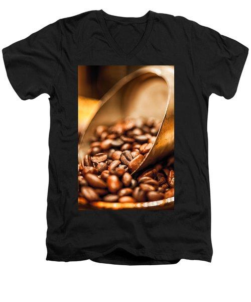 Fresh Coffee Men's V-Neck T-Shirt