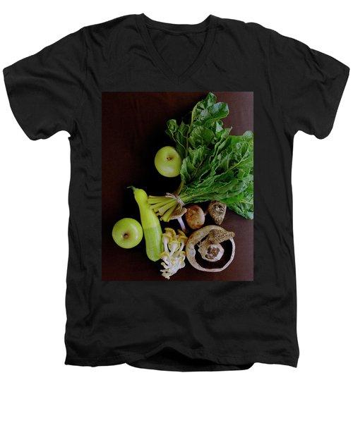 Fresh Vegetables And Fruit Men's V-Neck T-Shirt