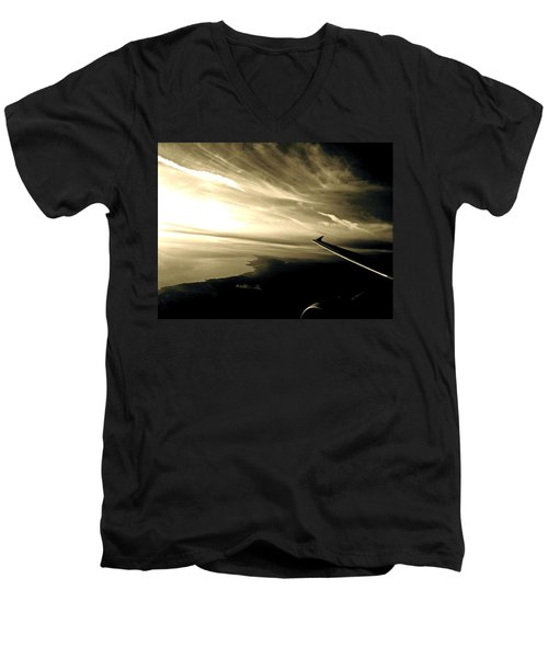 From The Plane Men's V-Neck T-Shirt