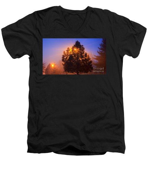 Frosty Sunrise 2 Men's V-Neck T-Shirt
