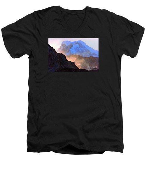 Frozen - Torres Del Paine National Park Men's V-Neck T-Shirt
