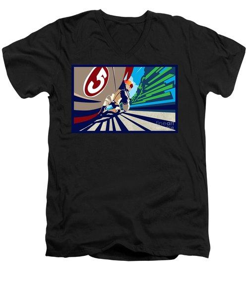 Full Throttle Men's V-Neck T-Shirt