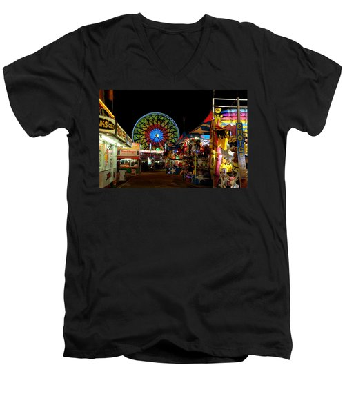 Fun Night At The Fair Men's V-Neck T-Shirt