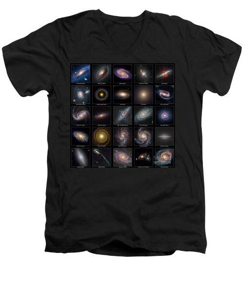 Galaxy Collection Men's V-Neck T-Shirt