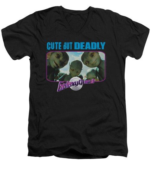 Galaxy Quest - Cute But Deadly Men's V-Neck T-Shirt