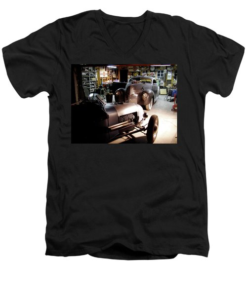 Garage Tour Men's V-Neck T-Shirt