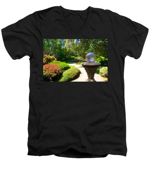 Garden Of Wishes Men's V-Neck T-Shirt