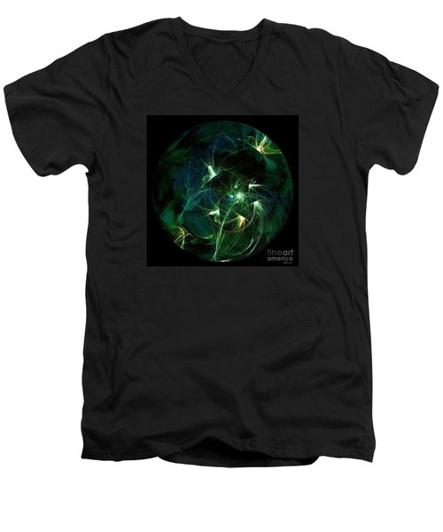 Garden Sprites Come At Night Men's V-Neck T-Shirt