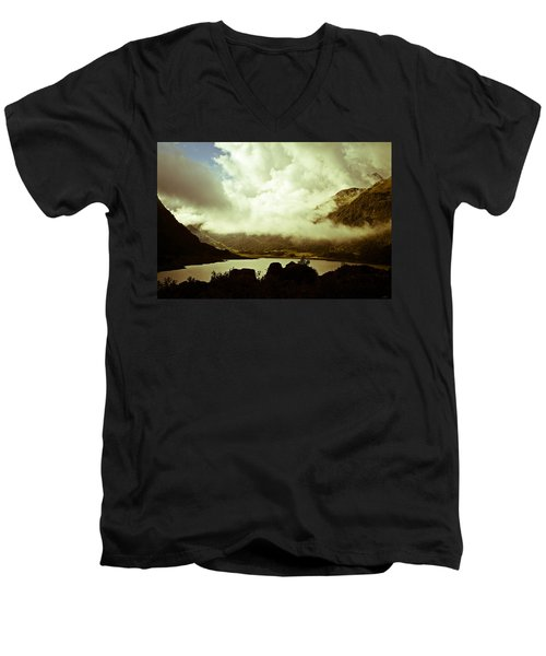 Gathering Clouds  Men's V-Neck T-Shirt