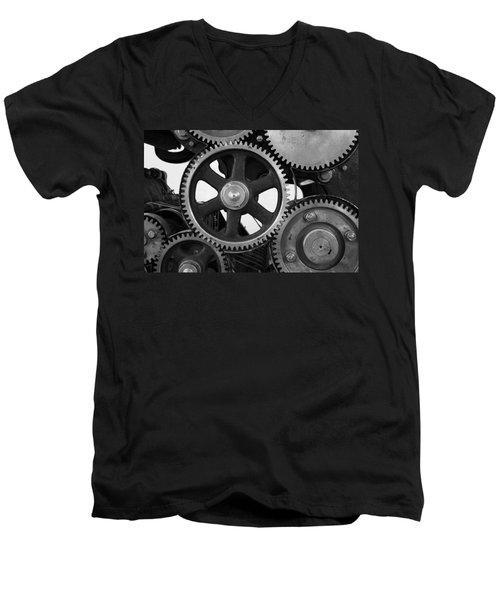 Gear Drive Men's V-Neck T-Shirt