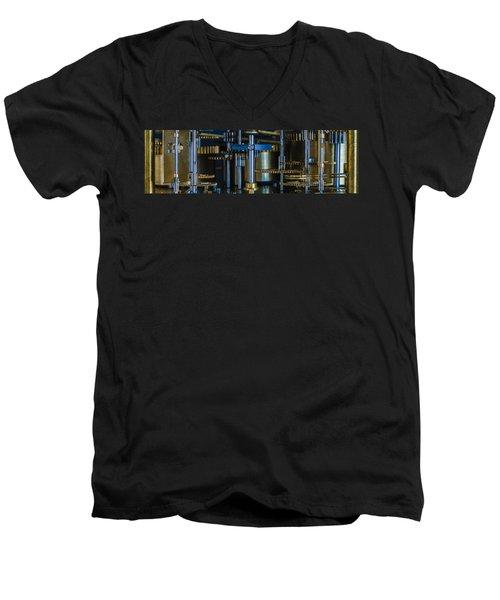 Gear Head Men's V-Neck T-Shirt