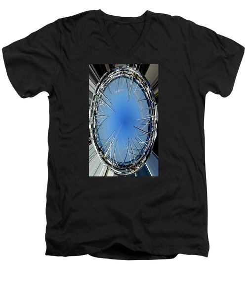Men's V-Neck T-Shirt featuring the photograph Gem Of The Ocean by Jodie Marie Anne Richardson Traugott          aka jm-ART