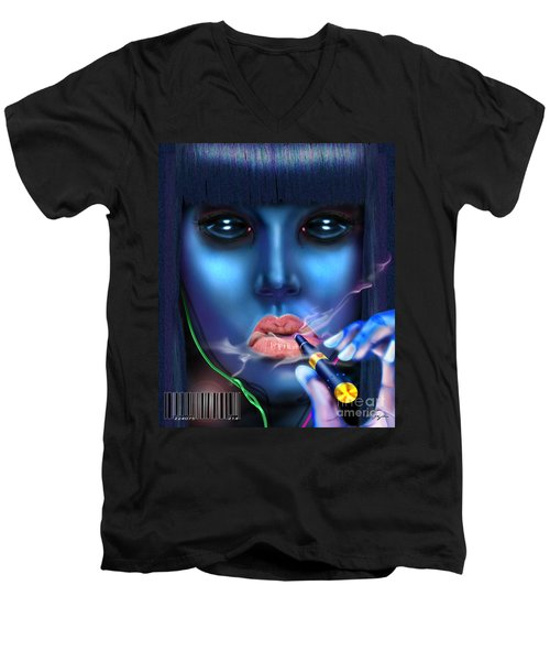 Generation Blu - Fully Loaded And Smoking Men's V-Neck T-Shirt