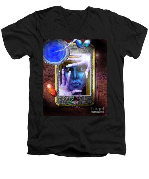Generation Blu - The Blu Pill Makes Kool Aid Men's V-Neck T-Shirt