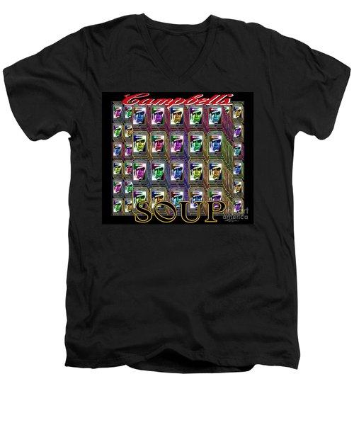 Generation Blu - The New Campbell Soup Men's V-Neck T-Shirt