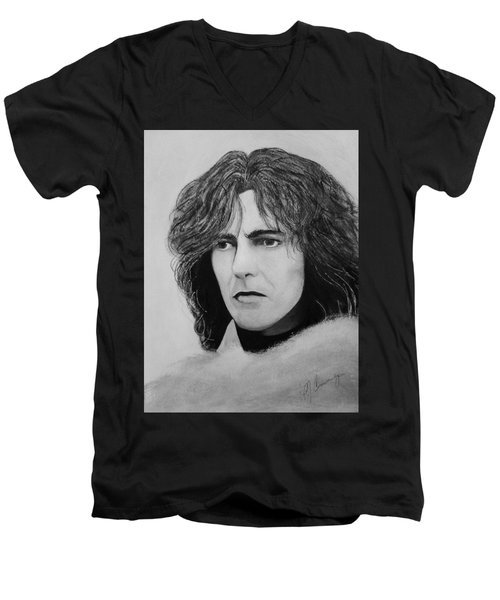 George Harrison Men's V-Neck T-Shirt