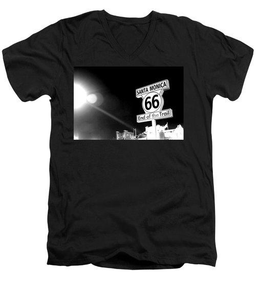 Get Your Kicks...  Men's V-Neck T-Shirt