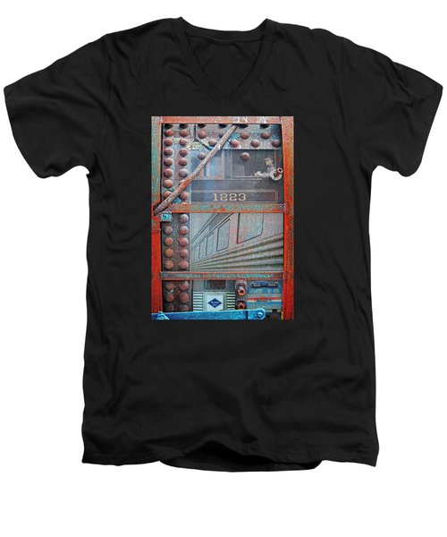 Ghosts Of The Railroad Men's V-Neck T-Shirt