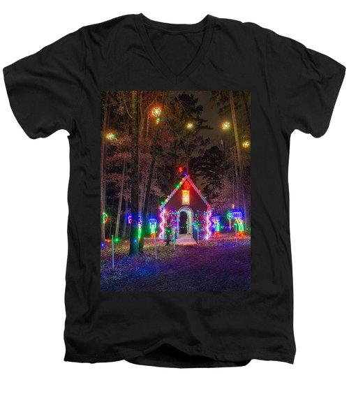 Ginger Bread House Men's V-Neck T-Shirt