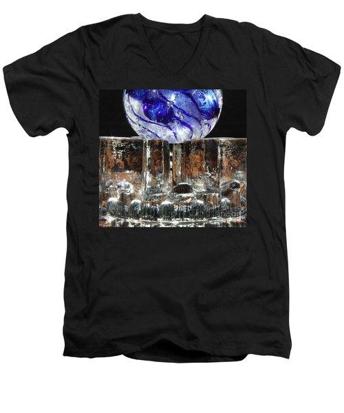 Glass On Glass Men's V-Neck T-Shirt