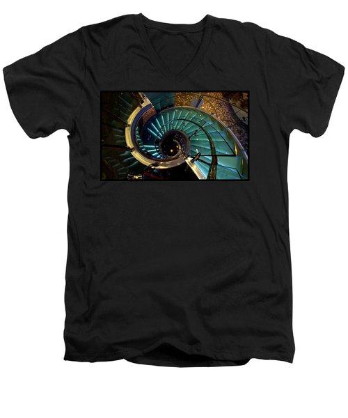 Glass Stairwell Men's V-Neck T-Shirt