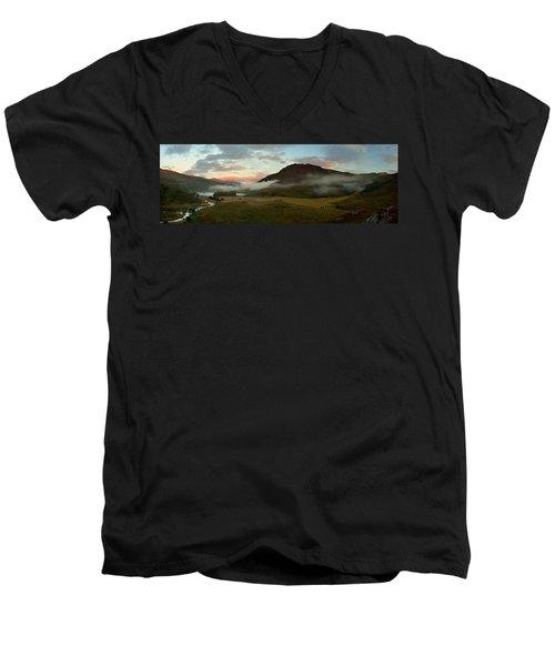 Glen Strathfarrar Men's V-Neck T-Shirt