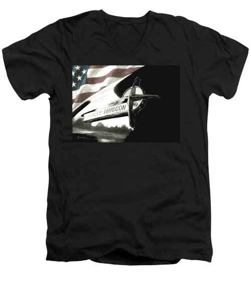 Glory And Power Men's V-Neck T-Shirt