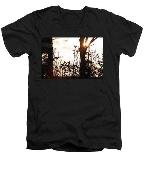 Glowing Landscape Men's V-Neck T-Shirt