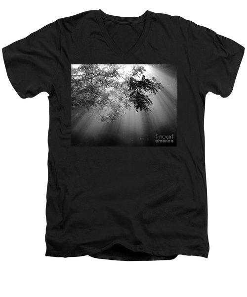 God Rays Men's V-Neck T-Shirt by Douglas Stucky