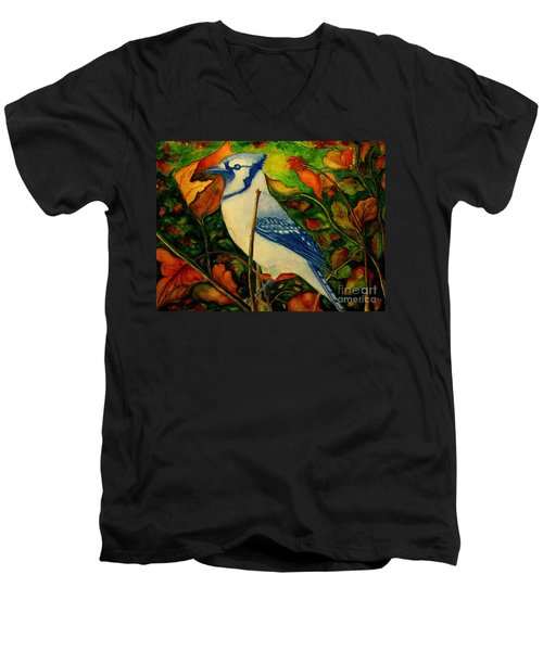God's New Creation  Men's V-Neck T-Shirt by Hazel Holland