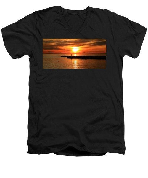 Gold Corona  Men's V-Neck T-Shirt