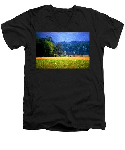 Golden Day Men's V-Neck T-Shirt