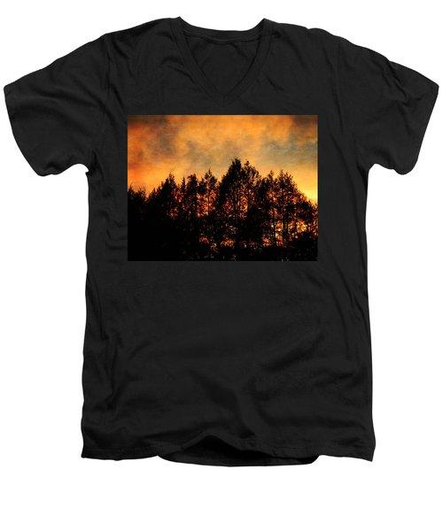 Golden Hours Men's V-Neck T-Shirt