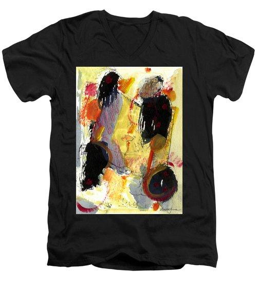 Golden Moon Men's V-Neck T-Shirt