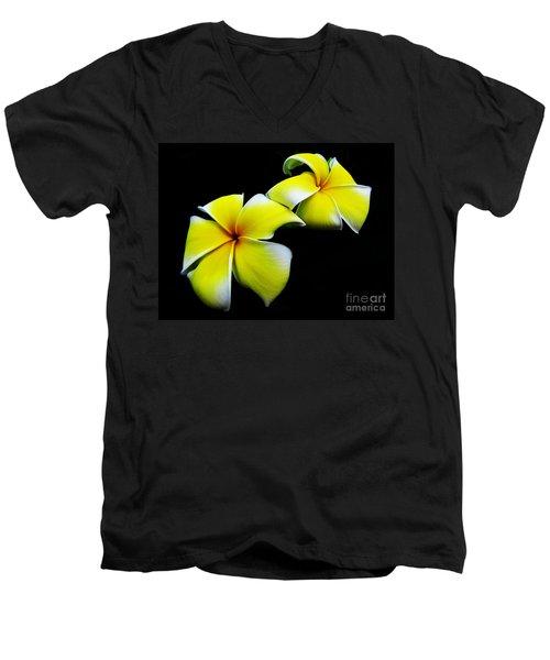 Golden Trumpets Men's V-Neck T-Shirt