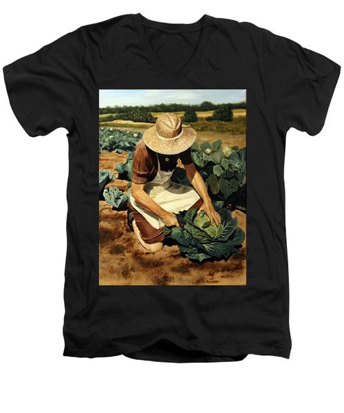 Good Harvest Men's V-Neck T-Shirt